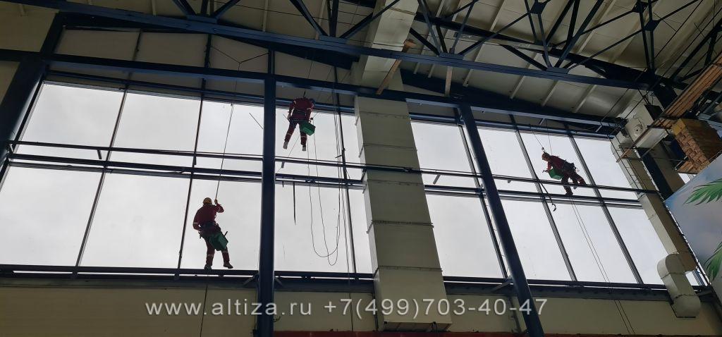 ООО «Ореонта» выполненые высотные работы альпинистами Альтиза