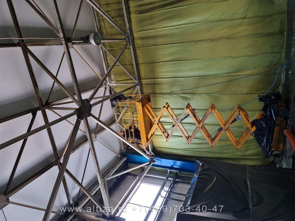 ООО «ИЗОПАН РУС» выполненые высотные работы альпинистами Альтиза