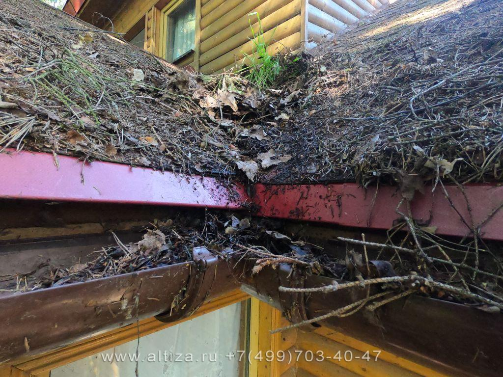 чем обработать крышу от мха