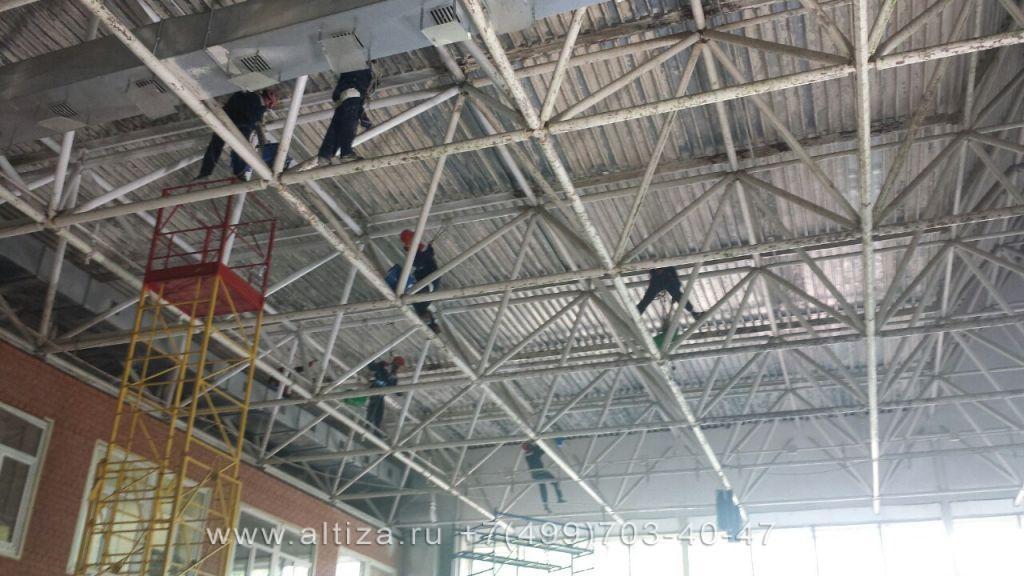 Покраска потолка и потолочных конструкций