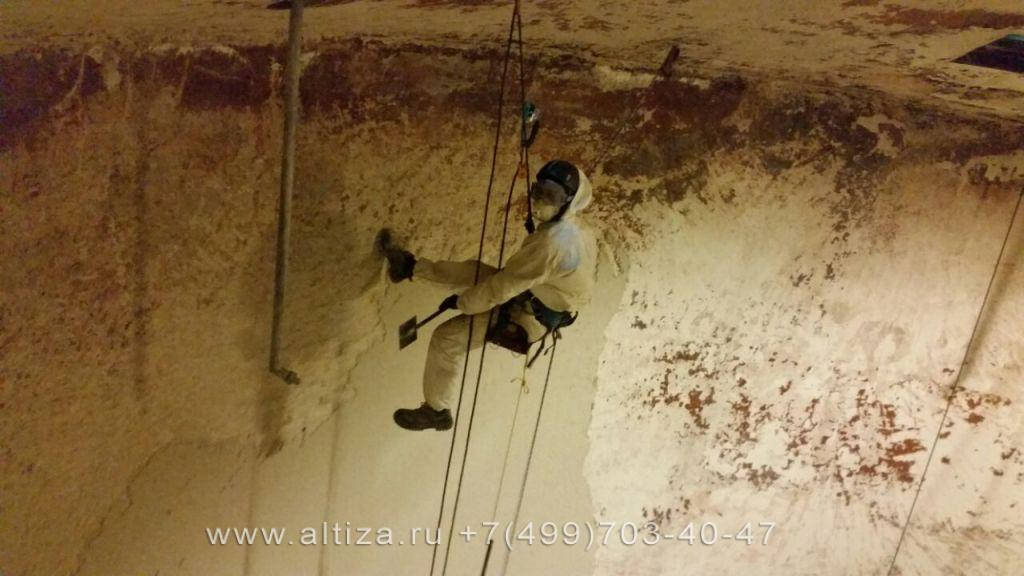 «ТТК Сервис» выполненые высотные работы альпинистами Альтиза