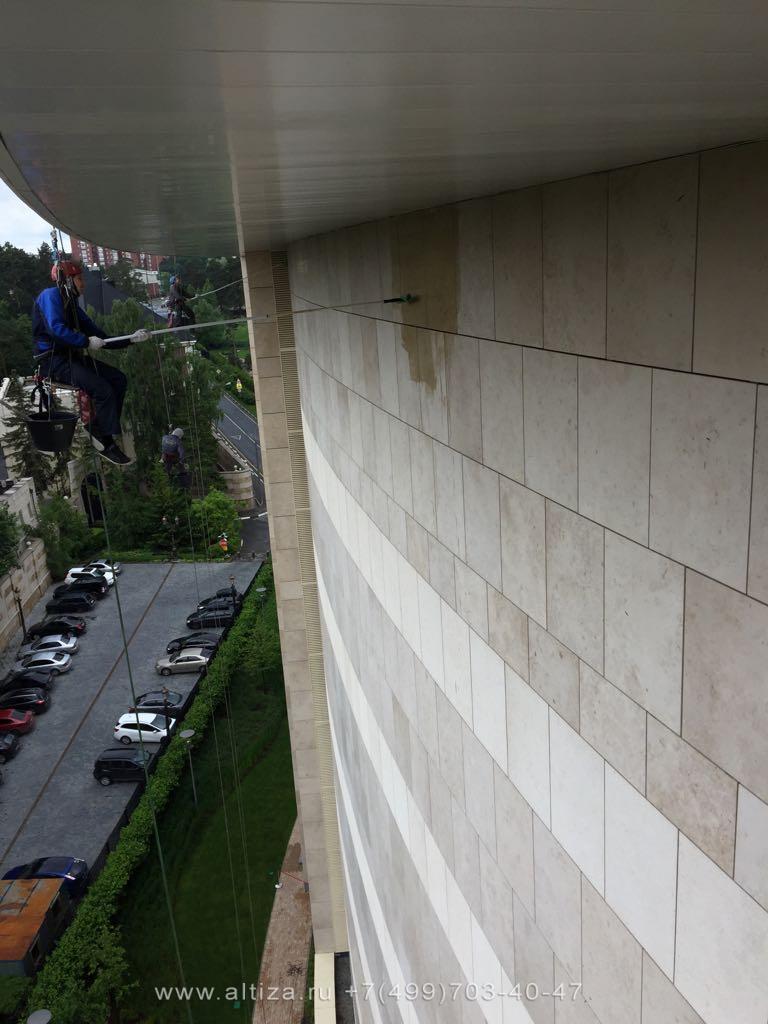 Что такое гидрофобизация фасада?