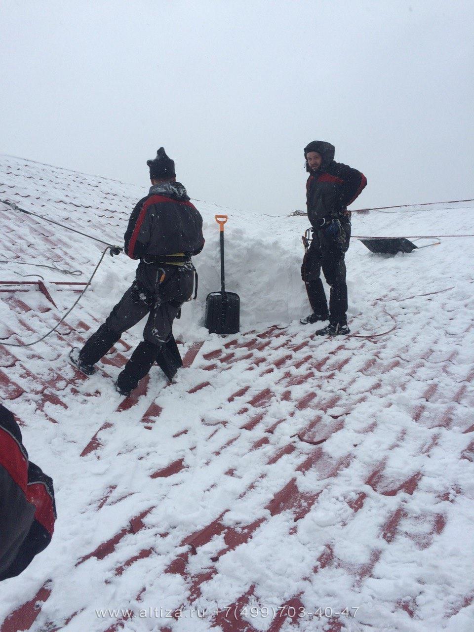 Штрафы за несвоевременную уборку снега с крыши