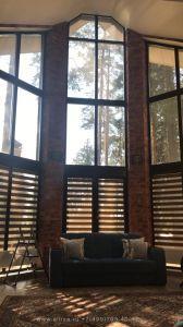 Мойка окон в частном доме с двух сторон