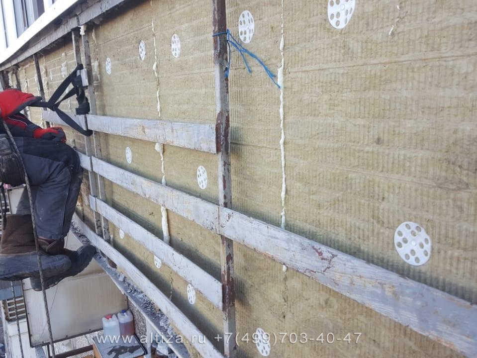 Кто может провести ремонт балкона снаружи