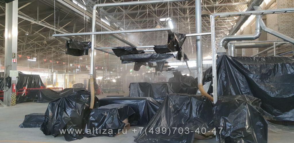 уборки производственного помещения