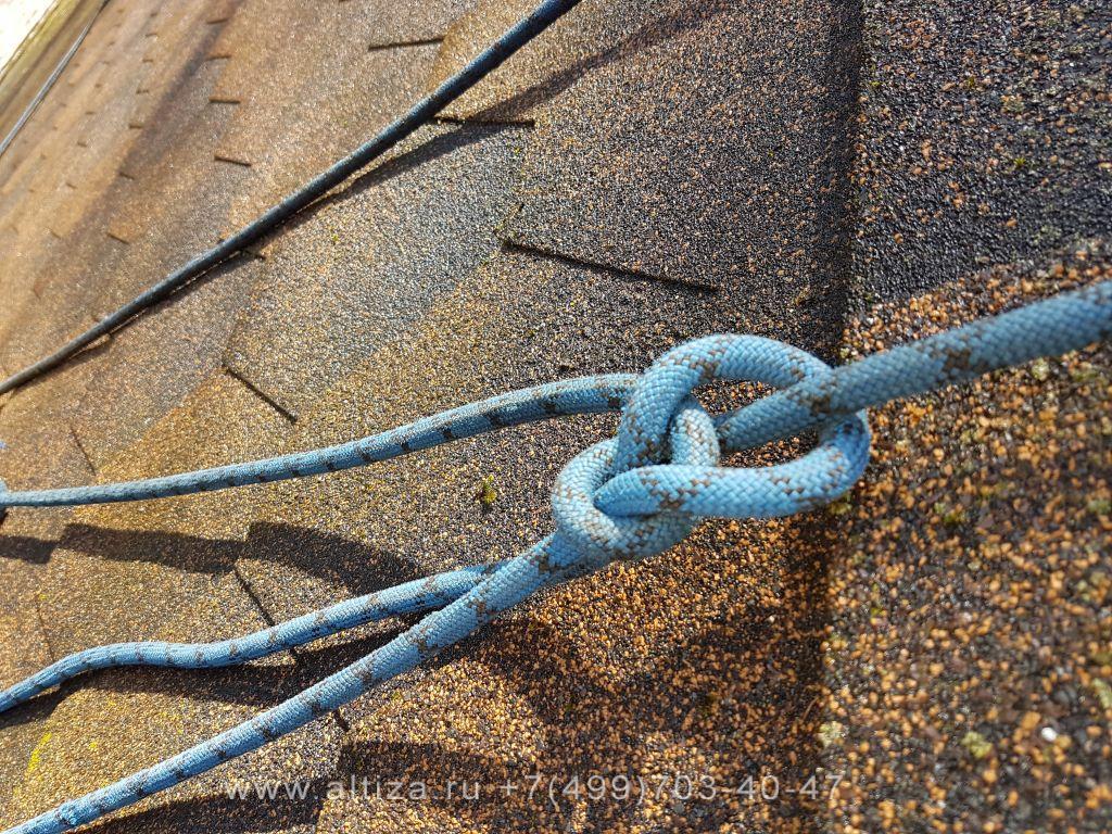 Удалить мох с крыши из мягкой кровли