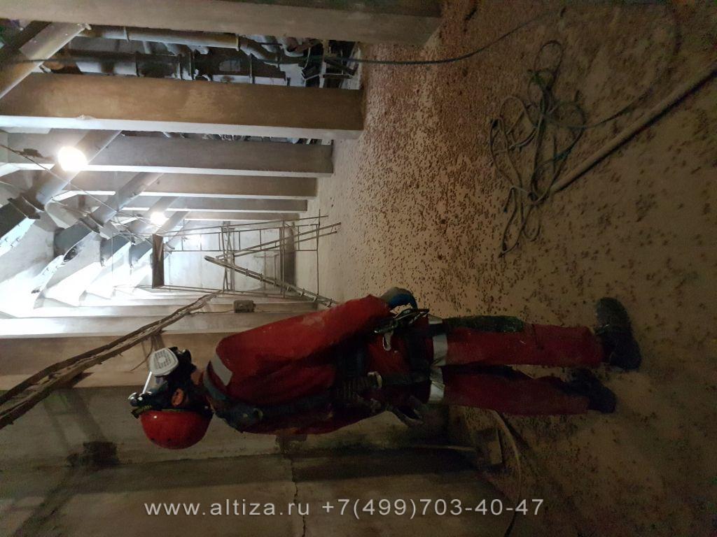 Детчинский комбикормовый завод выполненые высотные работы альпинистами Альтиза