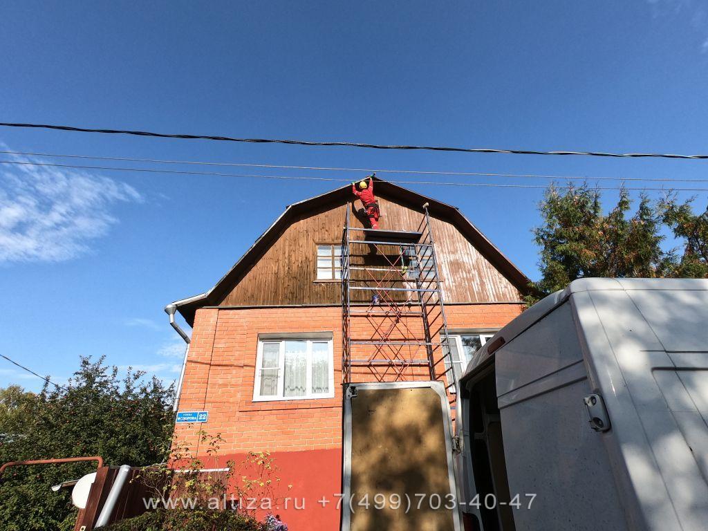 Ремонт крыши загородного дома