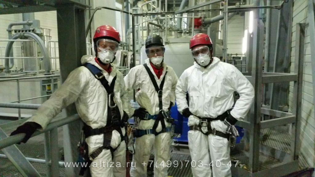 Санитарная очистка производств