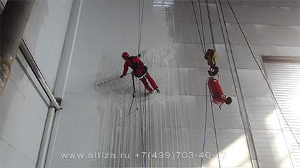 Альтиза - услуги высотных работ, промышленный альпинизм